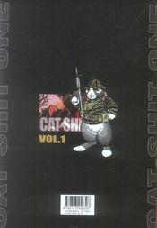 Cat shit one t.1 - 4ème de couverture - Format classique