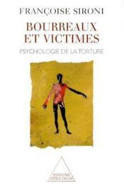 Psychologie de la torture - Couverture - Format classique