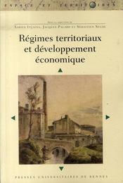 Régimes territoriaux et développement économique - Intérieur - Format classique