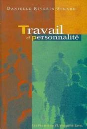 Travail et personnalite - Couverture - Format classique