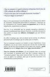 Les Entreprises Geantes - Un Nouvel Univers A Maitriser - 4ème de couverture - Format classique