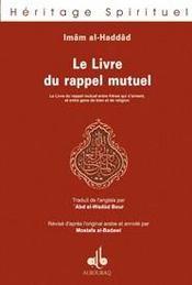 Livre Du Rappel Mutuel (Le) - Intérieur - Format classique
