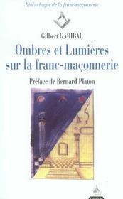 Ombres Et Lumieres Sur La Franc-Maconnerie - Intérieur - Format classique