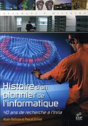 Histoire d'un pionnier de l'informatique - Intérieur - Format classique