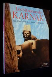 Les Batisseurs De Karnak - Couverture - Format classique