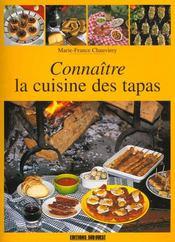 Connaître la cuisine des tapas - Intérieur - Format classique