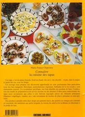 Connaître la cuisine des tapas - 4ème de couverture - Format classique
