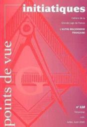 Points De Vue Initiatiques N.118 - Couverture - Format classique
