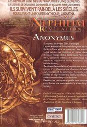 Anonymus - 4ème de couverture - Format classique