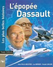L'epopee dassault - Couverture - Format classique