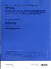 OECD reviews of evaluation and assessment in education : Portugal 2012 - 4ème de couverture - Format classique