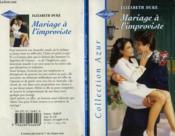 Mariage A L'Improviste - The Marriage Pact - Couverture - Format classique