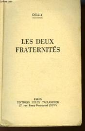 Les Deux Fraternites - Couverture - Format classique