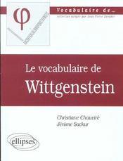 Wittgenstein - Intérieur - Format classique