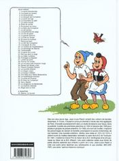 Sylvain et Sylvette t.30 ; Renard fait bande à part - 4ème de couverture - Format classique