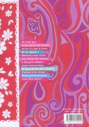 Carnet de recettes d'une blonde fauchee - 4ème de couverture - Format classique