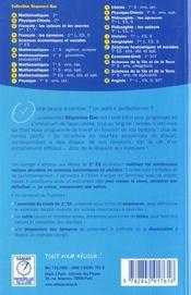 Sb sciences eco et sociales 1ere es - 4ème de couverture - Format classique