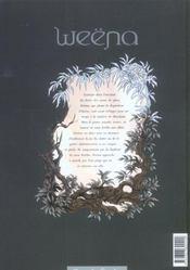 Weëna t.4 ; union - 4ème de couverture - Format classique