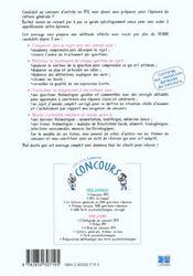 La Culture Generale Du Concours Ifsi 2eme Edition - 4ème de couverture - Format classique