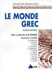 Le monde grec - Intérieur - Format classique