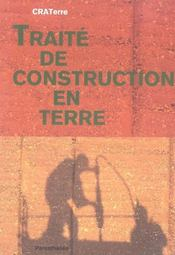 Traité de construction en terre - Intérieur - Format classique