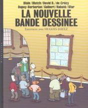 Nouvelle Bande Dessinee, Entretiens Avec Hugues Dayez - Intérieur - Format classique
