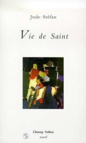 Vie de Saint - Couverture - Format classique
