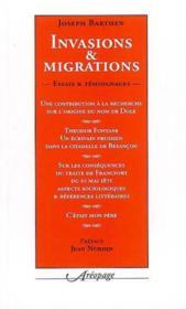 Invasions et migrations - Couverture - Format classique