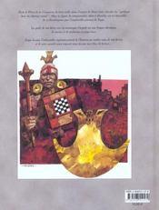 Bande Dessinee La Legende De Potosi - 4ème de couverture - Format classique