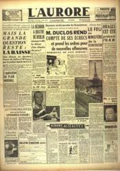 Aurore (L') N°1174 du 23/06/1948 - Couverture - Format classique