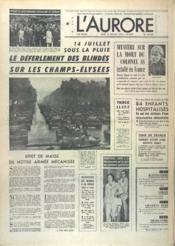 Aurore (L') N°9905 du 15/07/1976 - Couverture - Format classique