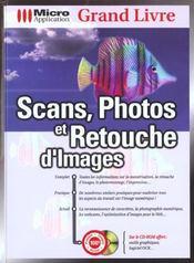 Grand livre scans & retouche - Intérieur - Format classique