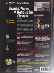 Grand livre scans & retouche - 4ème de couverture - Format classique
