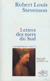 Lettres Des Mers Du Sud, Correspondance - Tome 2 - Couverture - Format classique