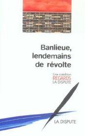 Banlieues Lendemain De Revolte - Intérieur - Format classique