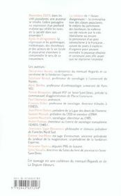 Banlieues Lendemain De Revolte - 4ème de couverture - Format classique