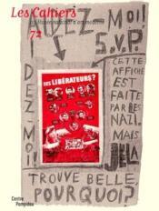 Cahiers Du Mnam N.72 ; Eté 2000 - Couverture - Format classique