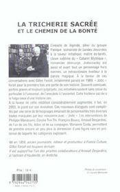 Tricherie sacree (la) nouvelle edition augmentee - 4ème de couverture - Format classique