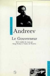 Gouverneur (Le) - Couverture - Format classique