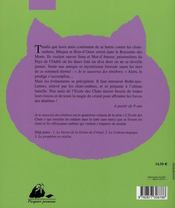 L'école des chats t.4 ; je te sauverai des ténèbres - 4ème de couverture - Format classique