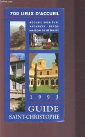 Guide Saint Christophe - Couverture - Format classique