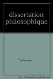 Dissertation philosophique - Couverture - Format classique