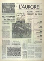Aurore (L') N°9908 du 19/07/1976 - Couverture - Format classique