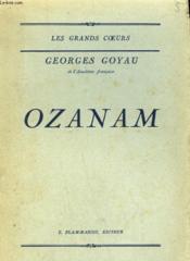 Ozanam. - Couverture - Format classique