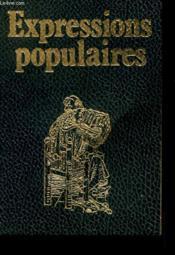 Expressions Populaires - Couverture - Format classique