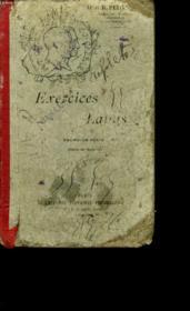 Exercices Latins. Premiere Partie. Classe De Sixieme. - Couverture - Format classique