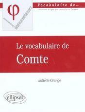 Comte - Intérieur - Format classique