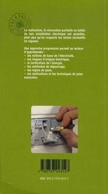 L'électricité - 4ème de couverture - Format classique
