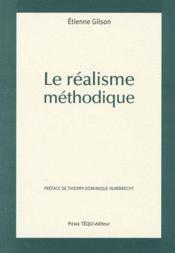 Le réalisme méthodique - Couverture - Format classique