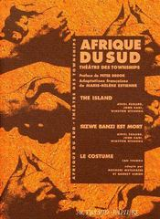 Afrique du sud, théâtre des townships ; the Island, Sizwe Banzi est mort, le costume - Couverture - Format classique